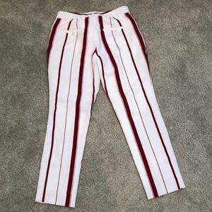 Banana Republic striped Avery pant. Sz 0